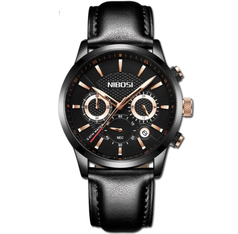 Nibosi - Montre Homme Glith A Quartz Only-Gentlemen.com Free Shipping