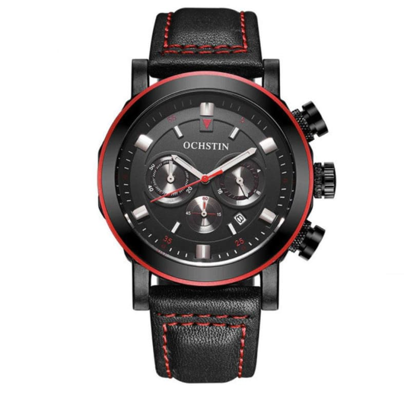 Ochstin - Montre Homme Red Luando A Quartz Only-Gentlemen.com Free Shipping