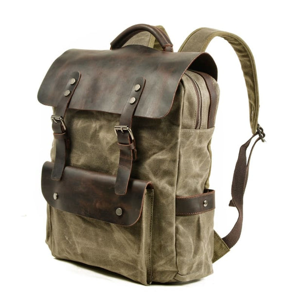 Retro backpack Backpacks only-gentlemen.com Free delivery
