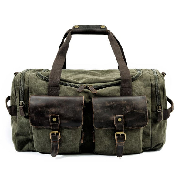 Retro Canvas Travel Bag Travel Bags only-gentlemen.com Free Shipping