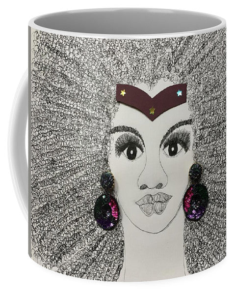Afro Superwoman - Mug