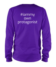 Global Afro Woman Protagonist Unisex Long Sleeve