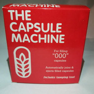 "The Capsule Connection Capsule Machine Size ""000"" (Red Box)"