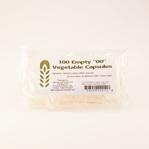Whole Empty Clear Vegetable Capsules Size