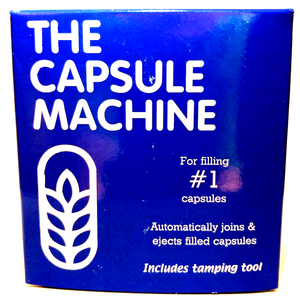 "The Capsule Connection Capsule Machine Size ""#1"" (Blue Box)"