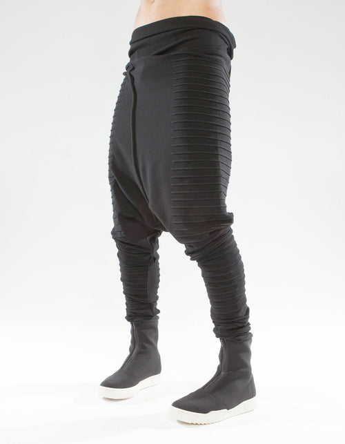TROUSERS BLACK WAVE ALCYONE