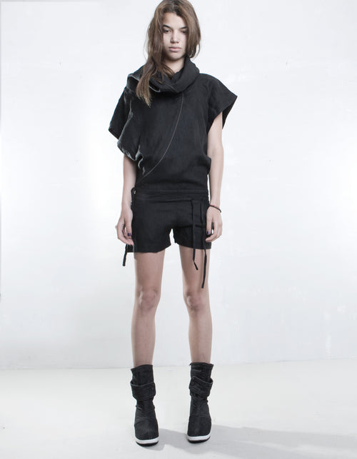 OVERALL FREE WILL SHORT BLACK