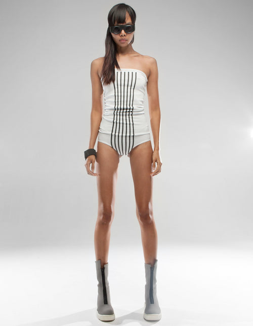 WATER SUIT WHITE PARALLEL
