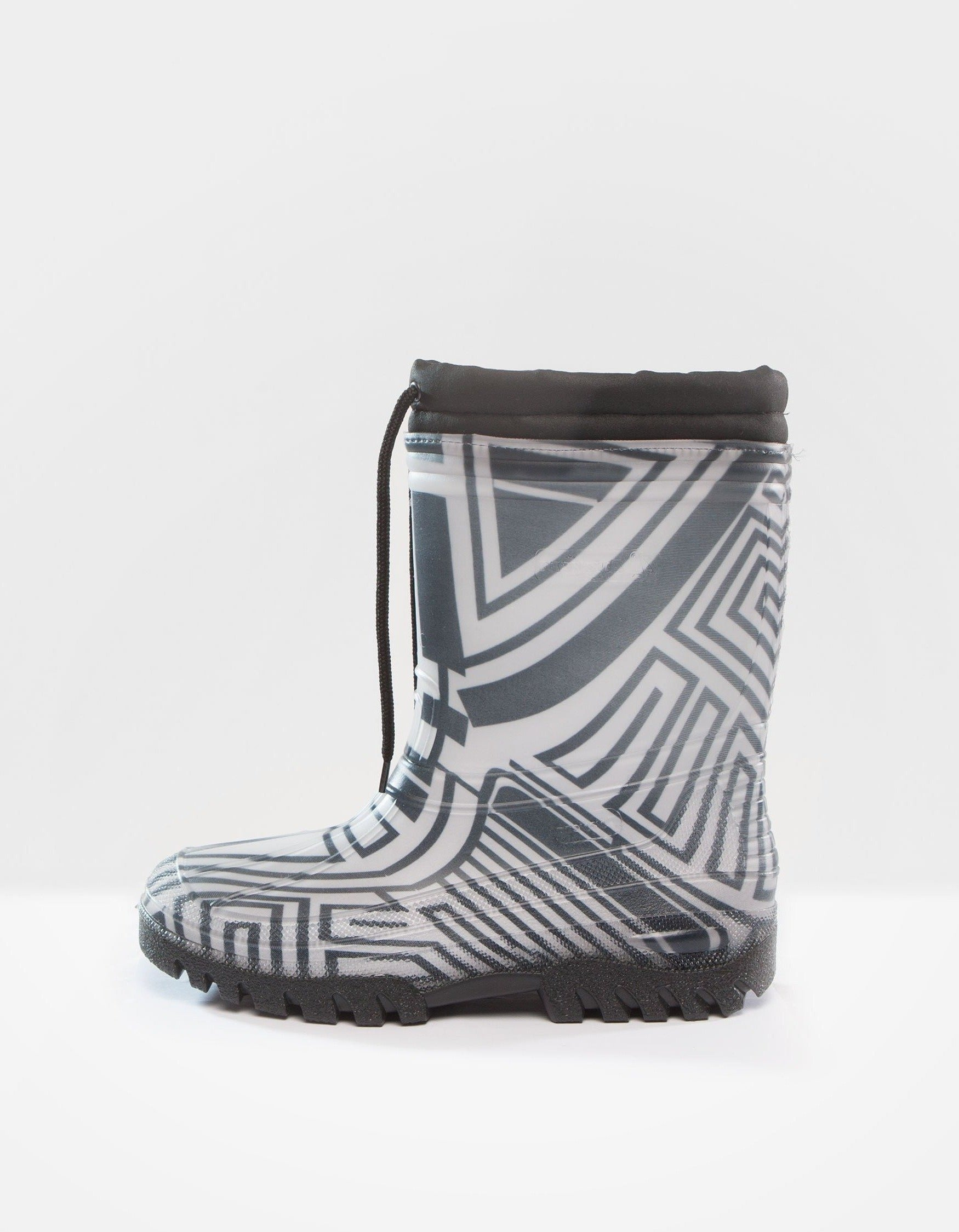 DEMOBAZA RUBBER BOOTS  STRUCTURE WHITE 02