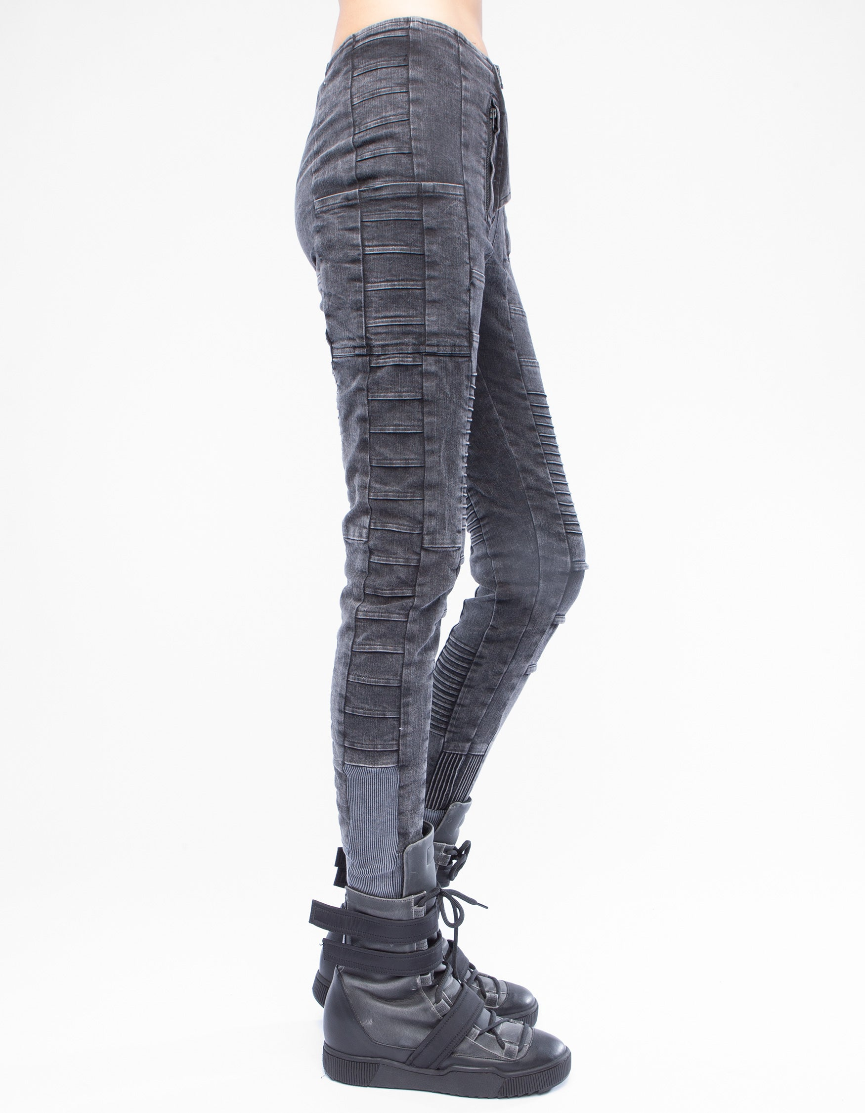 JEANS LEGGINGS PAD UNIFORM