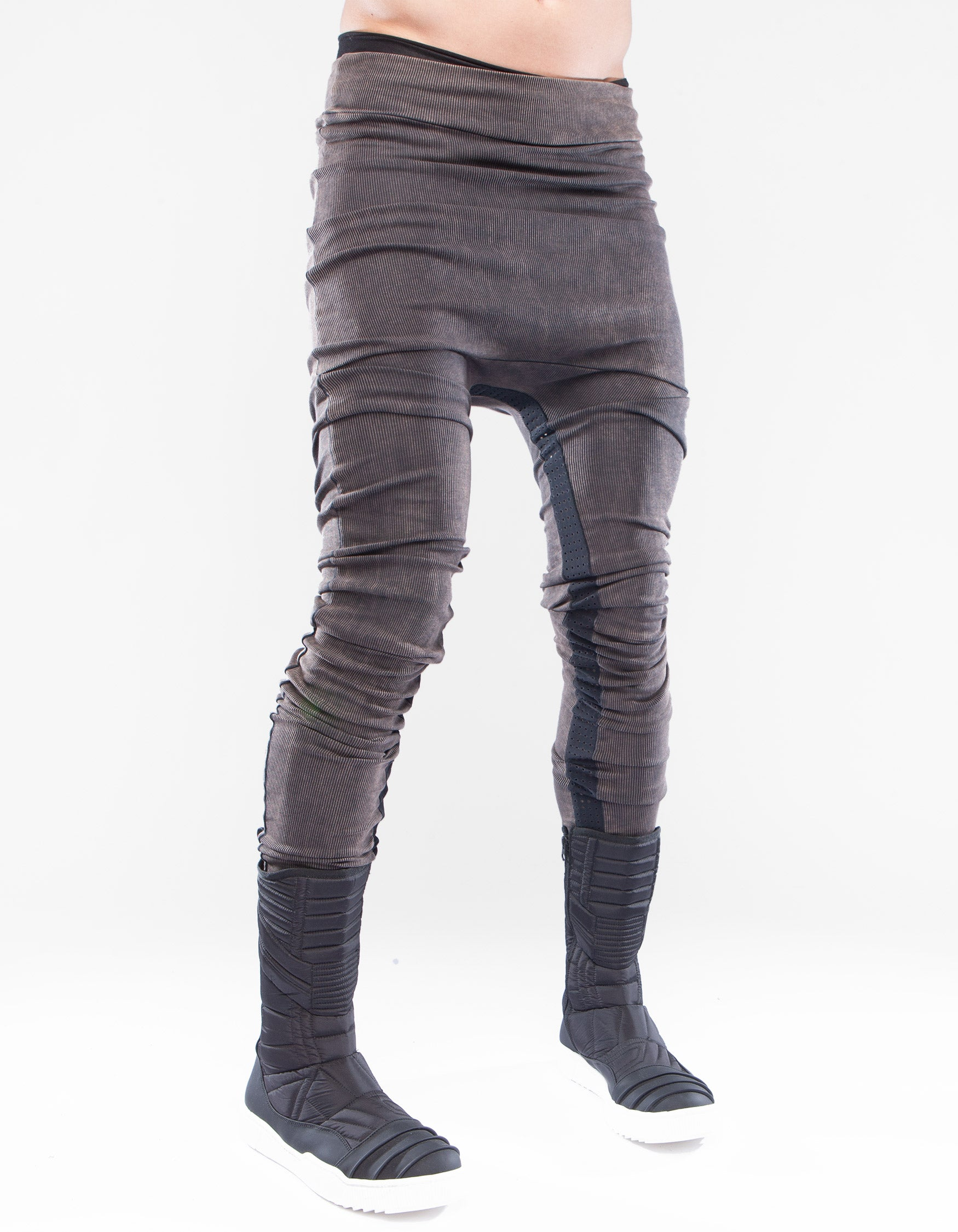 LEGGINGS RIB RUSTY