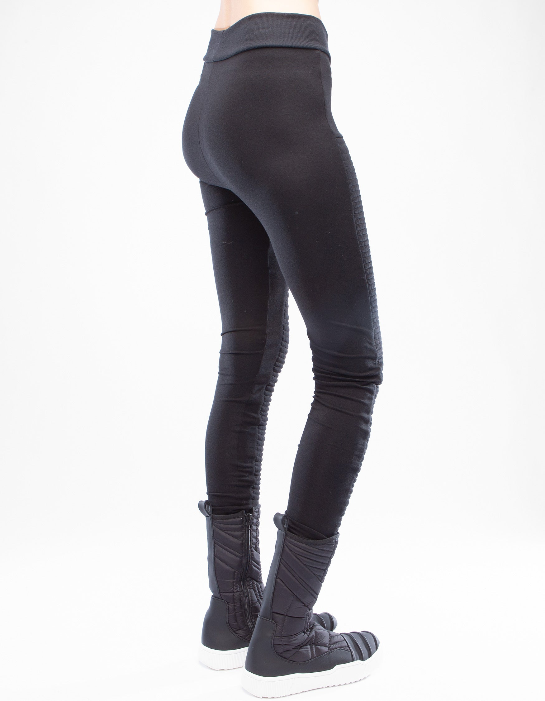 LEGGINGS RIBBED FREQUENCY