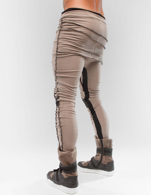 LEGGINGS SAND RIB