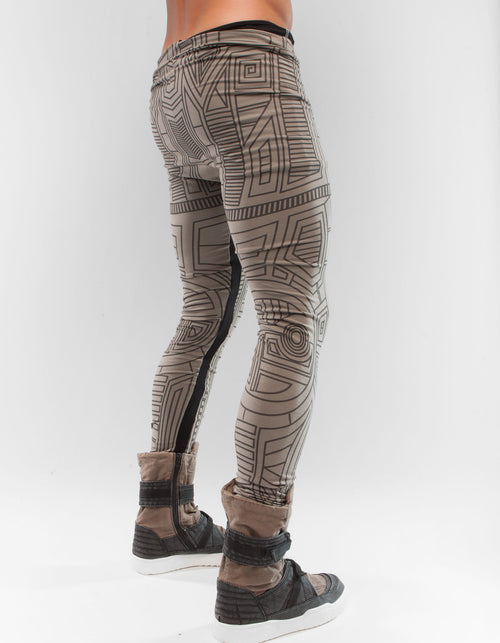 LEGGINGS STRUCTURE BEIGE M