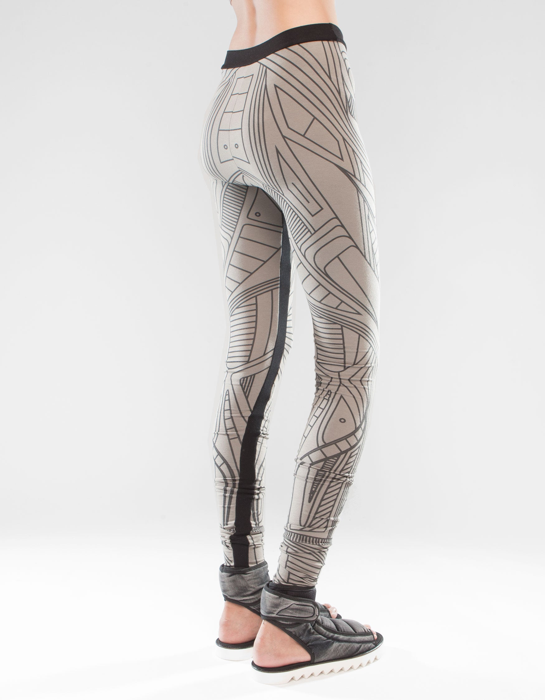 LEGGINGS STRUCTURE BEIGE W