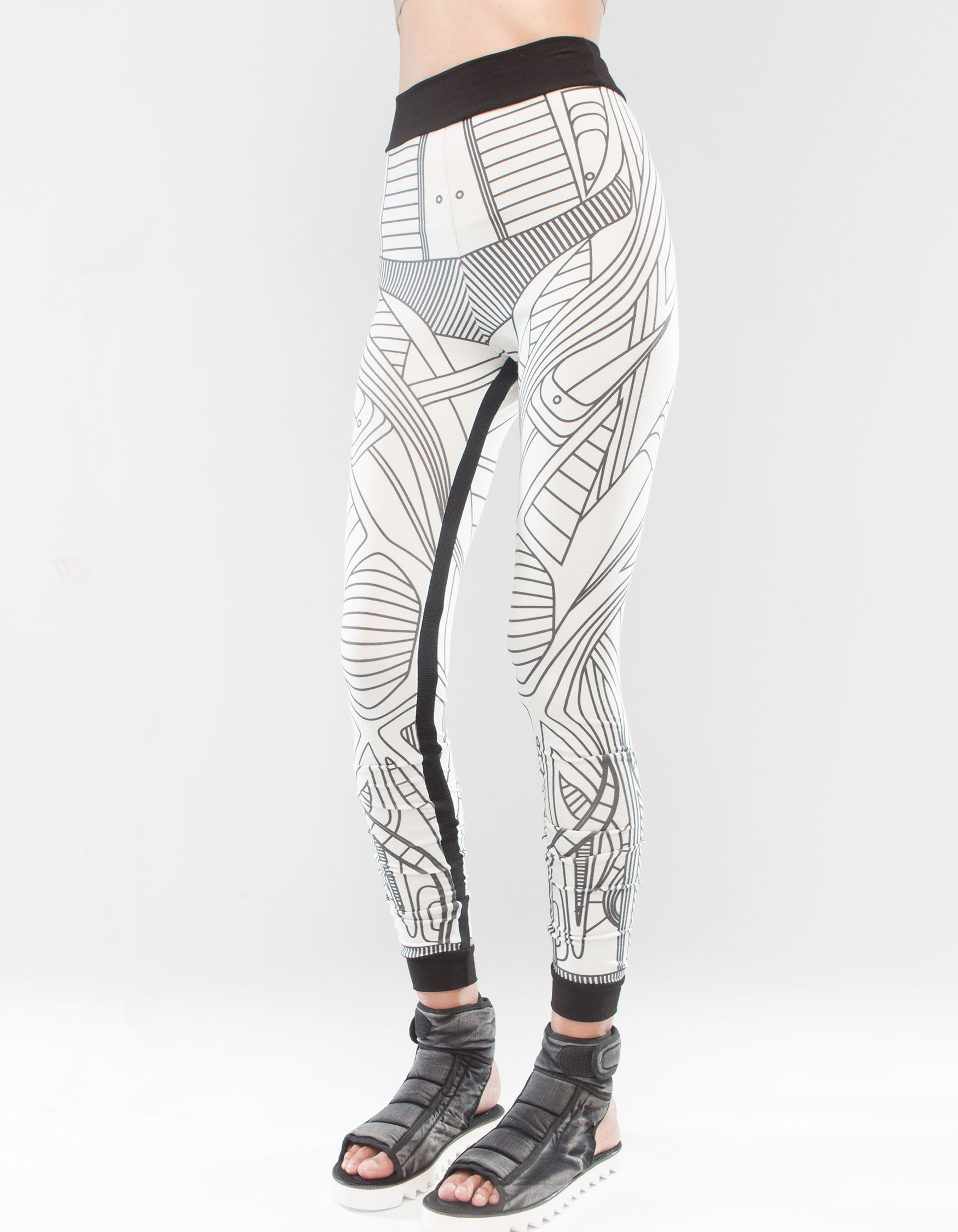 LEGGINGS STRUCTURE WHITE W