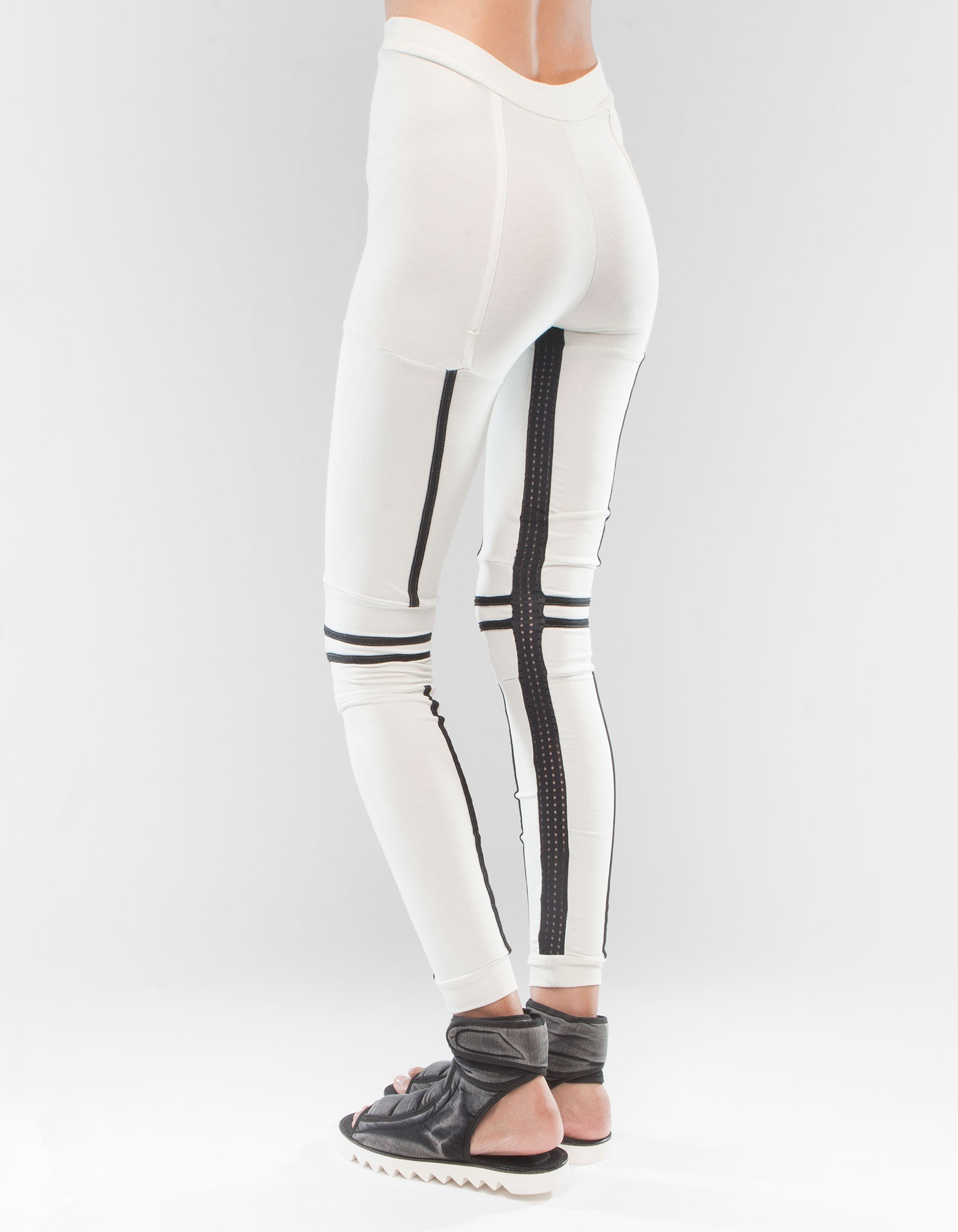 LEGGINGS WHITE ROBO