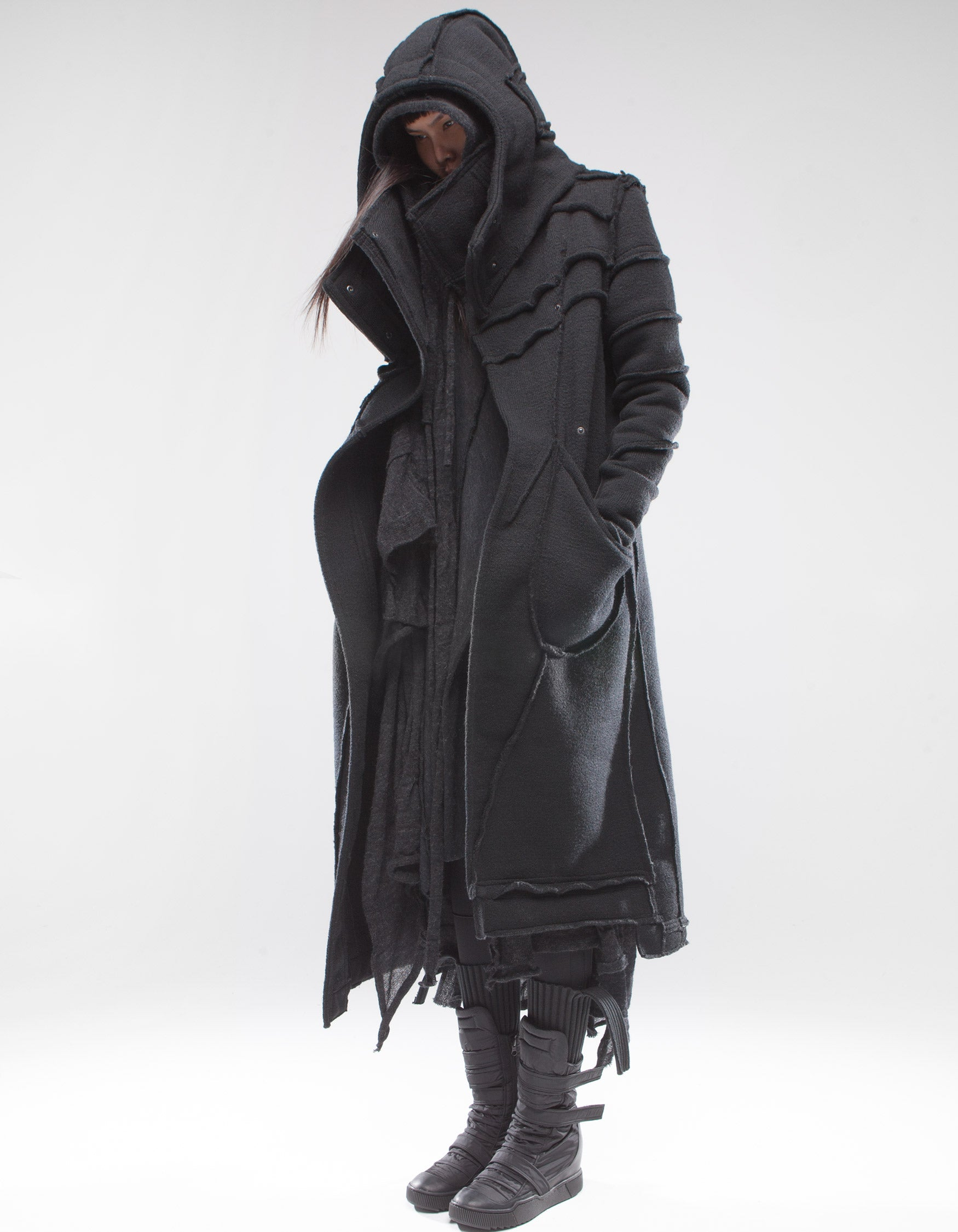 OVERCOAT BLACK SHEPHERD W