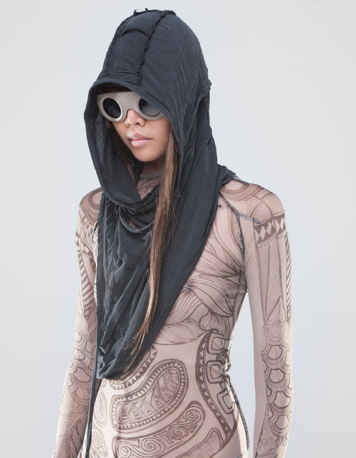 SHAWL HOOD HIGHER SELF