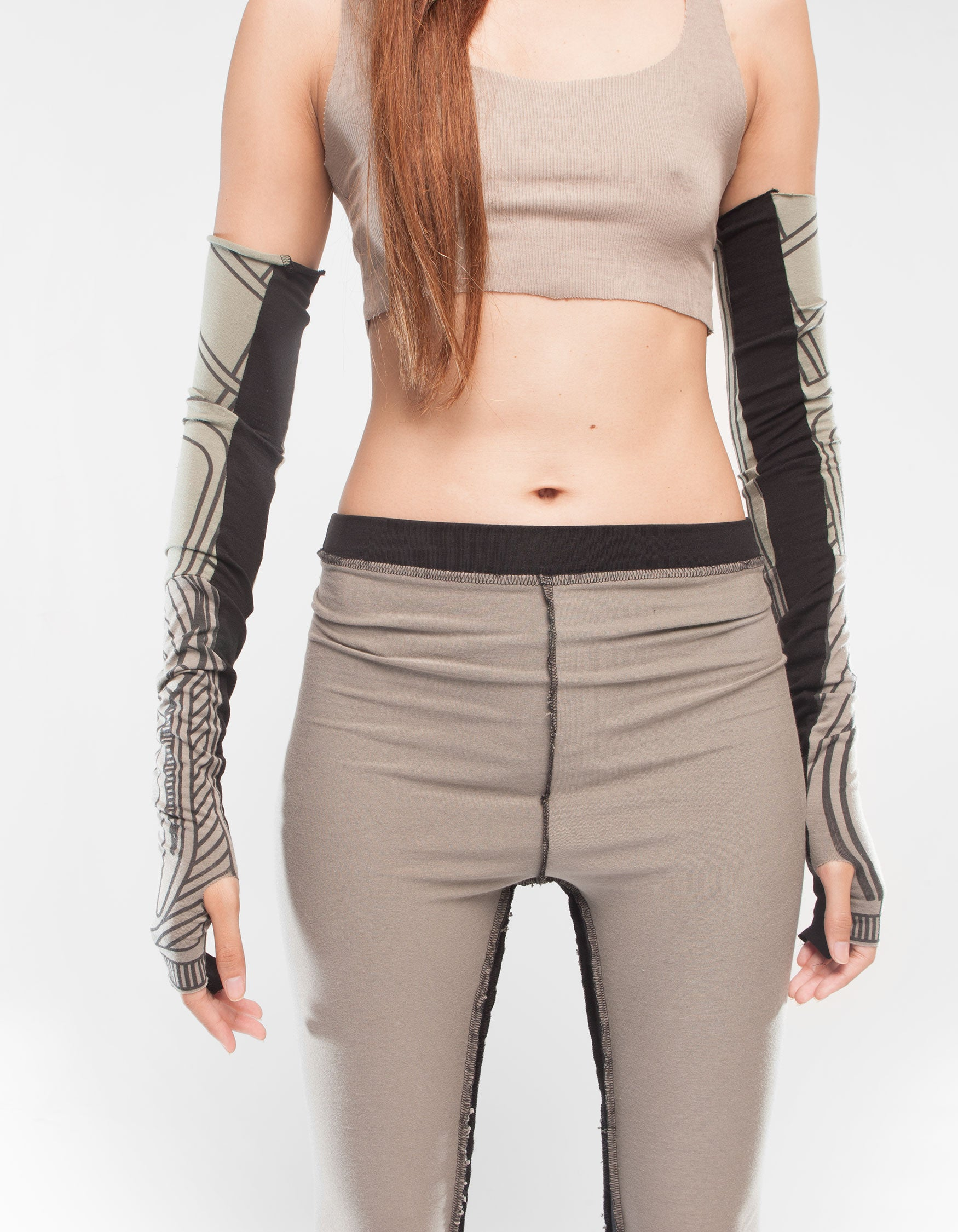 SLEEVES STRUCTURE BEIGE