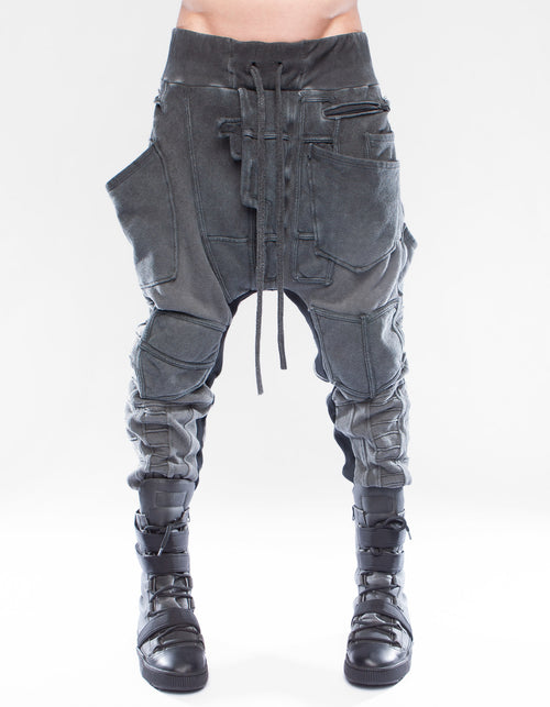 TROUSERS BAGGY CRYSTALLIZE