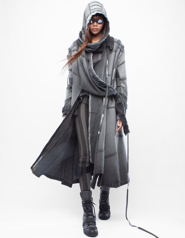 HOODY FIT CRYSTALLIZE W