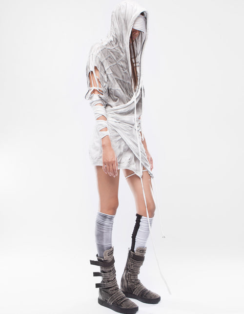 WRAP DRESS LIGHTWORKER