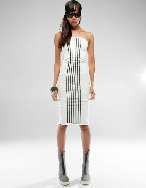 DRESS WHITE PARALLEL