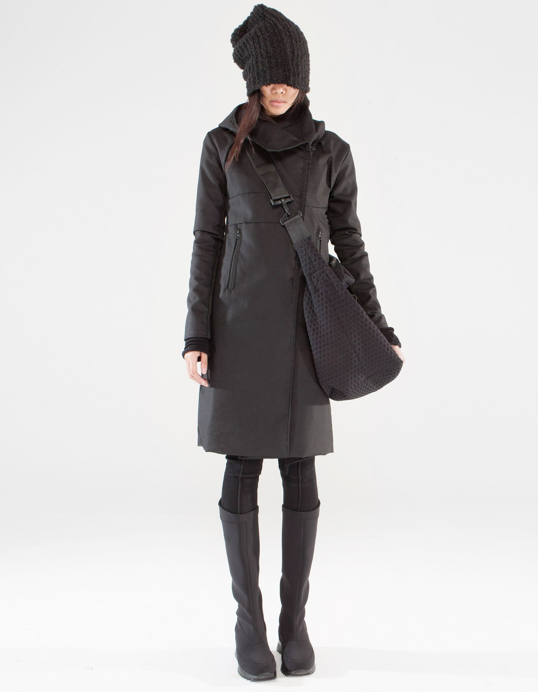 OVERCOAT BLACK FIELD W