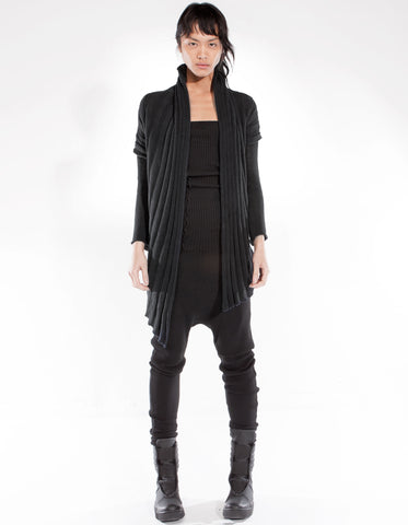 CARDIGAN BLACK ARMOR W