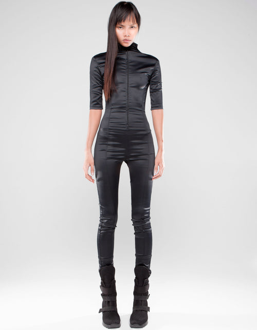 OVERALL LONG BLACK