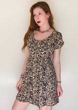 Leopard Print Babydoll Dress