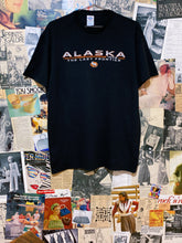 Alaska 1959 The Last Frontier Moose Stripe Graphic Tee