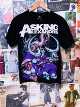Asking Alexandria Elephant Holding Skull Art Band Tee