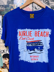 Airlie Beach East Coast Blue Combi Van Surf Grapic T-Shirt