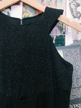 90's Festival Glitter Slinky Mini Dress