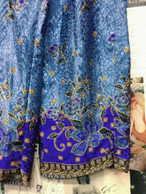 Retro Satin Silky Floral Block Print Pants