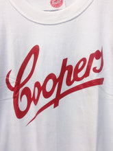 Coopers Red Label Logo White Mens T-Shirt