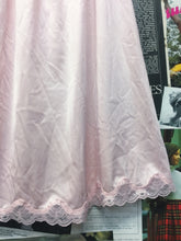 Vintage French Collection Soft Baby Pink Lace Underskirt Petticoat