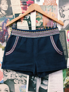 Tigerlily Miramar Embroidered Shorts