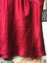 Vintage Monti 1980s Red Satin Tank Top