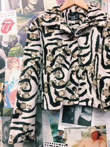 Annah Stretton Animal Print Jacket