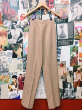 Beige High Waist Slacks