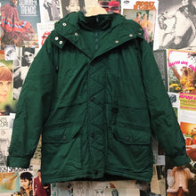 Mens Super Warm & Thick Army Green Puffer Jacket