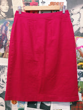Vintage 1980s Simply Sandra Hot Pink High Waist Pencil Skirt
