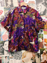 Vintage Loud Floral & Paisley Button-up Blouse