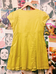 Mustard Shift Dress