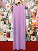 Pastel Lavender Tencel Maxi Dress