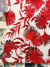 Kim Bettison Red & White Floral Top
