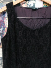 Deep Plum w/ Black Fur Floral Print 